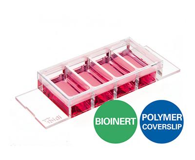μ-Slide 4孔生物惰性腔室载玻片-80420